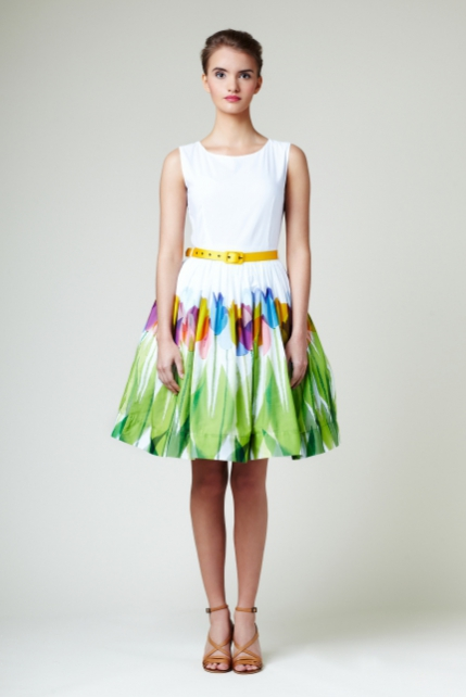Mrs Pomeranz, wedding-collection-The-yellow-tulips-dress