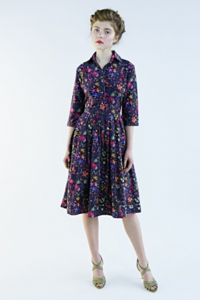 Mrs Pomeranz, collection-SS2015-Darjeeling-flower-dress