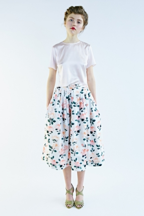 Mrs Pomeranz, collection-SS2015-Roses-skirt