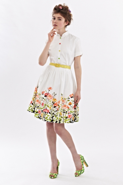 Mrs Pomeranz, collection-SS2014-Rose-garden-dress